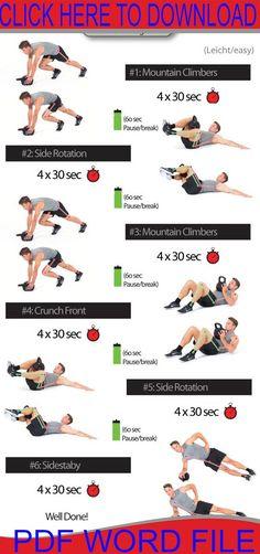 rutina de ejercicios para pesas rusas
