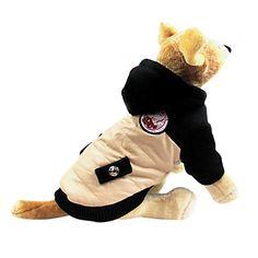 Fashionable bolso Estilo agasalho com capuz para Animais de estimação Cães (sizs sortidas) – BRL R$ 35,71