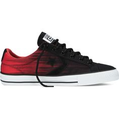Converse CONS Star Player Streaming Color – red Sneakers (45 CAD) ❤ liked on Polyvore