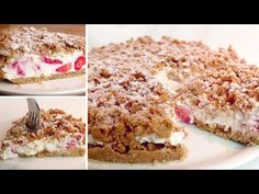 Bez trouby se rozpustí v ústech, chutná za minutu # 310 - YouTube Birthday Desserts, Party Desserts, Summer Desserts, Cookie Desserts, No Bake Desserts, Eggless Recipes, Easy Cake Recipes, Baking Recipes, Dessert Dips