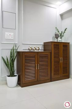 Did you know that the right entryway furniture could help you make the most of your foyer? Check out these foyer console tables to know Shoe Storage Furniture, Home Furniture, Furniture Design, Entryway Furniture, Entryway Storage Cabinet, Wooden Shoe Rack Designs, Wooden Shoe Racks, Shoe Cabinet Design, Cupboard Design
