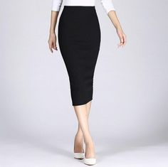 Spring Autumn Long Pencil Skirts Women Slim Package Hip Maxi Skirt Lady Winter Chic Wool Rib Knit Midi Skirt Saia Color Black Size One Size Long Pencil Skirt, Maxi Skirt Black, Pencil Skirts, Cheap Skirts, Mini Skirts, Office Skirt, Suede Mini Skirt, Winter Chic, Body Con Skirt