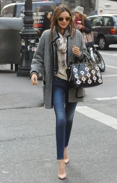 7 Different Ways to Wear Your Skinny Jeans According to Miranda Kerr