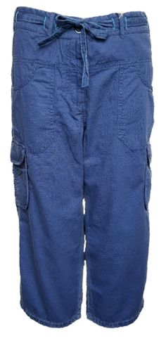 64976daa6a8ac WOMENS NEW FILA CROPPED CAPRI TROUSERS UK 12 (M) CASUAL CARGO PANTS - RRP  38  fashion  clothing  shoes  accessories  womensclothing  pants (ebay link)