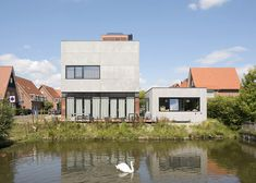 Cost-efficient Modern Home in The Netherlands Offering a High Living Standard
