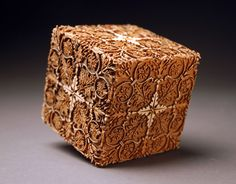 """Laser Cubes by McNabb & Co.   3.5"""" x 3.5"""" x 3.5"""",Maple   Assorted decorative cubes, embellished using laser engraving technology"""