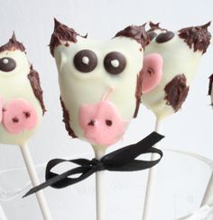 Kupops! <3 #cow #cakepops #cakepoppin #moo #chocolate #cute #funny #partydesign #lol