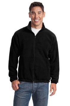 Port Authority Mens Performance Fleece Full-Zip Jacket Lime Green Grey XX-Large
