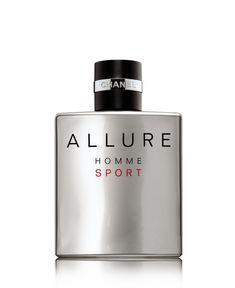 Chanel Men's Allure Homme Sport Eau De Toilette - - No Size Perfume Chanel, Perfume Glamour, Best Perfume, Perfume Bottles, Chanel Allure Homme Sport, Chanel Beauty, Shaving, Men's Cologne, Lotions