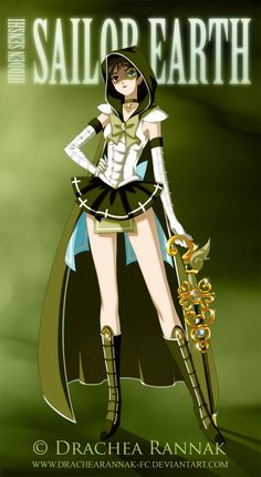 that looks kinda cool - Sailor Earth by krilin86.deviantart.com