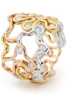 Jewellers Association of Australia Awards 2012. Dean Harrison for Ringleaders - Entrant for Diamond Design Award