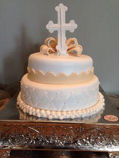 Pastel de bautizo