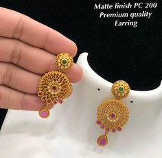Temple Jewellery available at Ankhjewels for booking WhatsApp on India Jewelry, Temple Jewellery, Gold Jewellery, Ear Rings, Round Cut Diamond, Brain, Diamond Earrings, Crochet Earrings, Necklaces