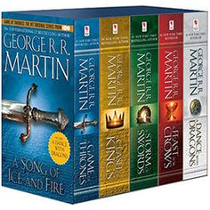 Livro - A Game of Thrones Boxed Set: A Song of Ice and Fire Series (5 Livros) Pocket