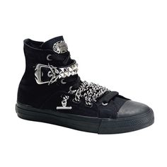 Gothic High Top Sneakers