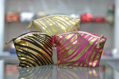 Cosmetiquera animal print gold Precio al mayor: $6.000 Precio unidad: $10.000