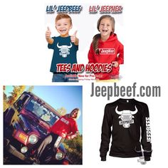 Don't forget to stop by our online store at www.jeepbeef.com the link is in our bio. There's gear for everyone in your #jeepfamily #jeepher #jeepbeef #liljeepher #liljeepbeef #jeep #Padgram