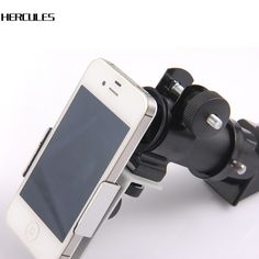 metal universal mobile phone camera adapter,Astronomical telescope Connecting mobile adapter clip