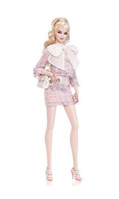 Fashion Royalty Dolls, Fashion Dolls, Fashion Show, Pale Blonde, Chiffon Gown, Dress For Success, High End Fashion, Beautiful Gowns, Lingerie Set