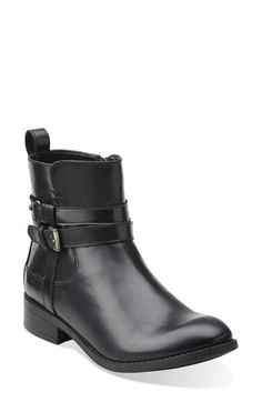 Clarks® 'Pita Austin' WaterproofAnkle Boot (Women) available at #Nordstrom