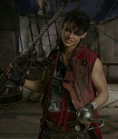 Kenny Ortega Says You'll Fall In Love With Uma's Gang of Pirates in 'Descendants Photo China Anne McClain, Dylan Playfair and Thomas Doherty are about to become your favorite pirates ever. The three newcomers to the Descendants family star as… Disney Descendants 2, Descendants Characters, Descendants Cast, Descendants Costumes, High School Musical, Disney Villains, Disney Movies, Dove And Thomas, Harry Hook