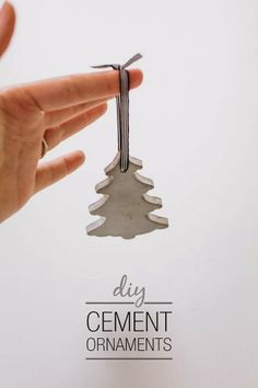DIY Project : Cement Ornament - French By Design