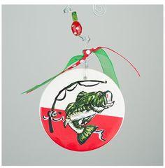 GLORY HAUS Bass Flat Ornament | underthecarolinamoon.com