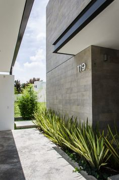 Image 4 of 42 from gallery of / ADI Arquitectura y Diseño Interior. Photograph by Oscar Hernández Design Exterior, Interior And Exterior, Architecture Details, Interior Architecture, Garden Architecture, Landscape Design, Garden Design, Modern Landscaping, Facade House
