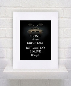 Back to the Future 80s movie quote