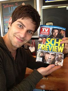 David Giuntoli from Grimm! Grimm featured in Sci-Fi Magazine! AND Teen Wolf!!!