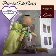 Pinocchio di legno petit amour bambola di di MacchiavelliArtLegno