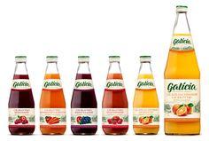 Упаковка сока Galicia – агентство POLARIS