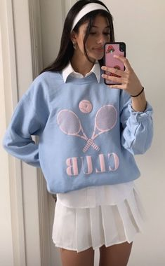 Indie Outfits, Preppy Outfits, Retro Outfits, Girly Outfits, Cute Casual Outfits, Vintage Outfits, Fashion Outfits, Indie Fashion, Look Fashion