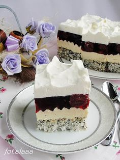 Vanilla Cake, Food And Drink, Treats, Baking, Sweet, Party, Diet, Chef Recipes, Cooking