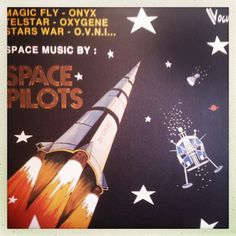 """Rare late 70s Vogue label Space Pilots LP. Found in a Paris record shop for 5 euro. Wicked """"Telstar"""" disco version (J. Meek) with a Roland CR-78 drum machine."""