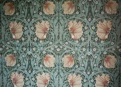 "Engelsk tapet efter gammal förlaga, ""Pimpernel"", William Morris & Co"