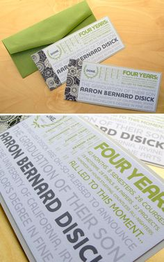 Oh So Beautiful Paper: More Graduation Announcements!