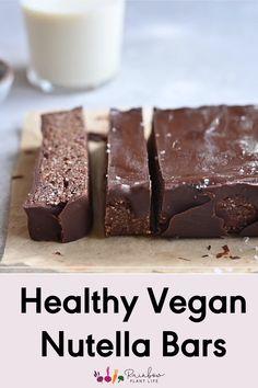 Healthy Fudge, Healthy Snack Bars, Healthy Dessert Recipes, Easy Snacks, Healthy Baking, No Bake Desserts, Healthy Desserts, Vegan Recipes, Healthy Dates Recipes