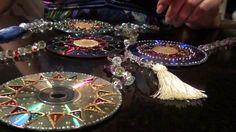 Tutorial Mandala em CD (série mandalas vídeo 2)