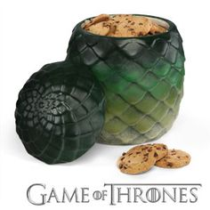 Game of Thrones dragon egg cookie jar! $29.99
