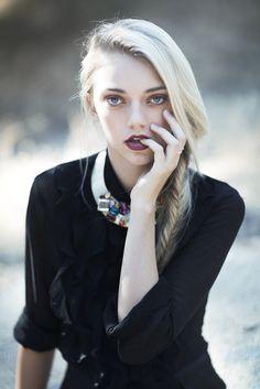 Pyper America at NEXT Models for Hacid Magazine   Stylist Cara Bloom   Makeup/Hair Kim Young   Designer Michelle Hebert
