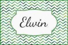 Seltene Jungennamen:Elwin