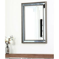 Abbyson Living London Rectangle Wall Mirror | Overstock.com Shopping - Great Deals on Abbyson Living Mirrors