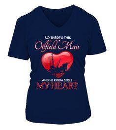 Oilfield Man Heart