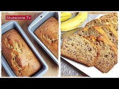 Najprostszy klasyczny chlebek bananowy (zawsze się uda!) :: Skutecznie.Tv - YouTube Banana Bread, Youtube, Food, Essen, Meals, Youtubers, Yemek, Youtube Movies, Eten