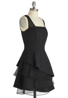 Twirl Power Black Dress by Lincredible♥