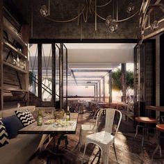 Beton, Gestein Und Verspiegelnde Oberflächen Kombinieren | Architecture  Moderne | Pinterest | Interiors, Architecture And Modern