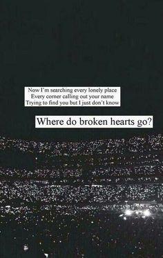 Where Do Broken Hearts Go? // One Direction