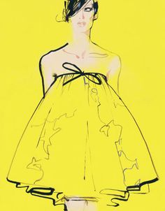 Andy Warhol designs fashion. Bianca would love this. David Downton, London