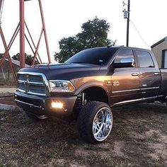 jacked up chevy trucks pictures Jacked Up Chevy, Jacked Up Trucks, Big Rig Trucks, Ram Trucks, Dodge Trucks, Diesel Trucks, Pickup Trucks, Dodge Cummins, Truck Memes